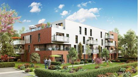 Appartement neuf Le Clos des Ateliers éco-habitat à Leers