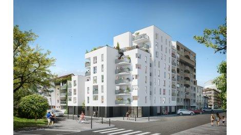 Appartement neuf Le 155 investissement loi Pinel à Villeurbanne