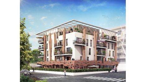 Appartement neuf Grandmont Park 2 éco-habitat à Tours