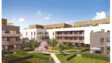 Appartement neuf Les Reflets du Parc éco-habitat à Bois-Guillaume