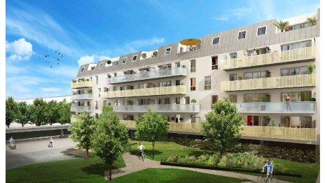 Appartement neuf Les Impressionnistes éco-habitat à Rouen