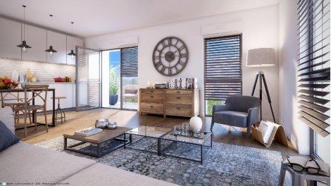 Appartement neuf Nantes-Quartier Hippodrome investissement loi Pinel à Nantes