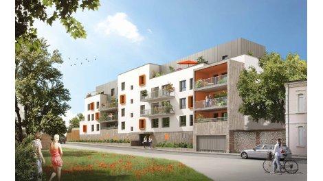 Appartement neuf Eclat de Seine éco-habitat à Rouen