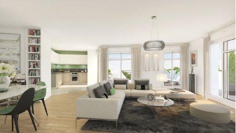 Appartement neuf Lyon 8 éco-habitat à Lyon 8ème