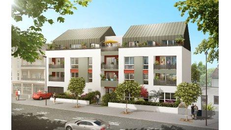 Appartement neuf L'Atelier des Lettres investissement loi Pinel à Nantes
