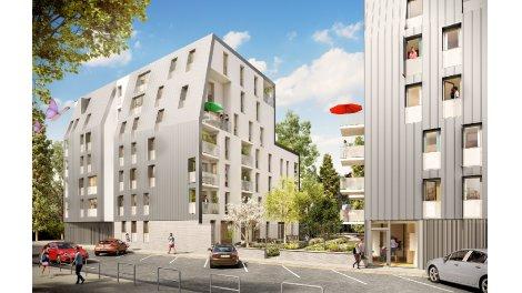 Appartement neuf L'Empreinte éco-habitat à Lille