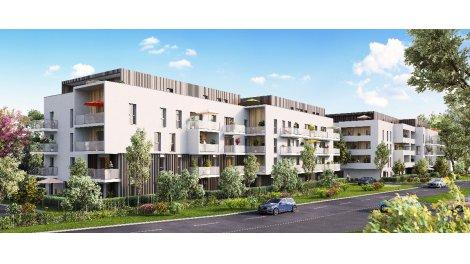 Appartement neuf Les Terrasses d'Aelys éco-habitat à Thionville