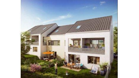 Appartement neuf Le Clos des Hêtres éco-habitat à Metz