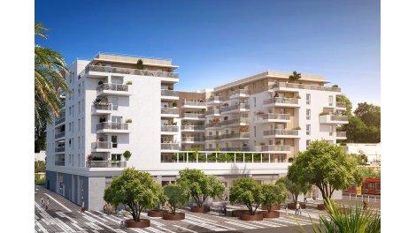 Appartement neuf Carre Vauban éco-habitat à Nice