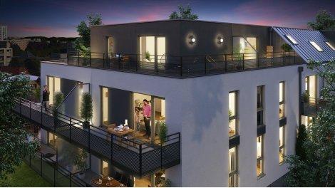 Appartement neuf Le Confidentiel investissement loi Pinel à Strasbourg