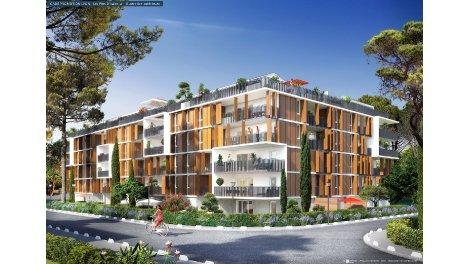 Appartement neuf Les Pins d'Isabela investissement loi Pinel à Marseille 9ème