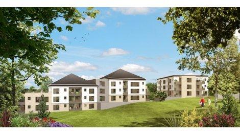 Appartement neuf Le Domaine de la Gruette éco-habitat à Saint-Cyr-sur-Loire