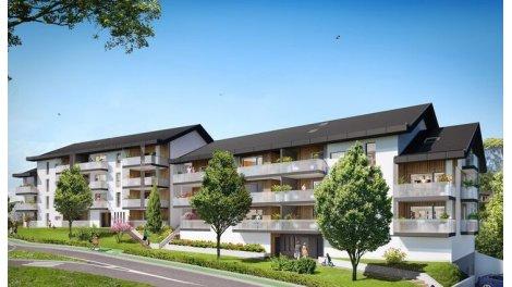 Appartement neuf Mineralys investissement loi Pinel à La Balme-de-Sillingy