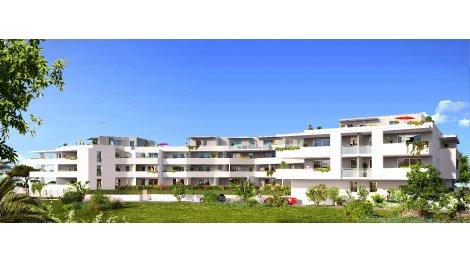 Appartements et maisons neuves Première Ligne éco-habitat à Mèze