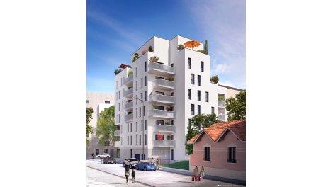 Appartement neuf Lumière Monplaisir investissement loi Pinel à Lyon 8ème