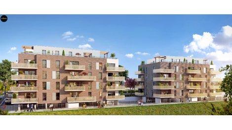 Appartement neuf La Draperie éco-habitat à Roncq