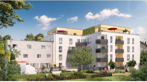 Appartement neuf L'Esquisse investissement loi Pinel à Villeurbanne