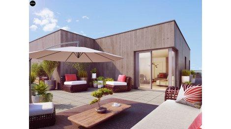 Appartement neuf Les Allées de Jade éco-habitat à Torcy