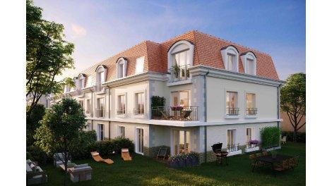 Appartement neuf Villa Mansart éco-habitat à Saint-Fargeau-Ponthierry