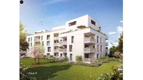 Appartement neuf Trio Verde éco-habitat à Rennes