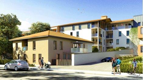 Appartement neuf Le Lys de Blanche investissement loi Pinel à Toulouse