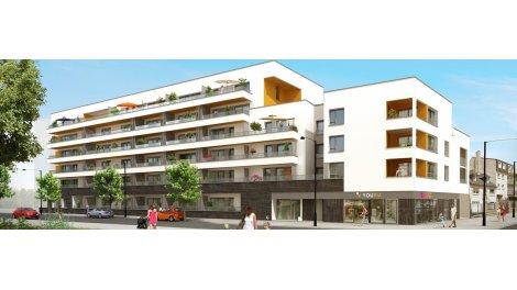 Appartement neuf Résidence Mélody éco-habitat à Saint-Jacques-de-la-Lande