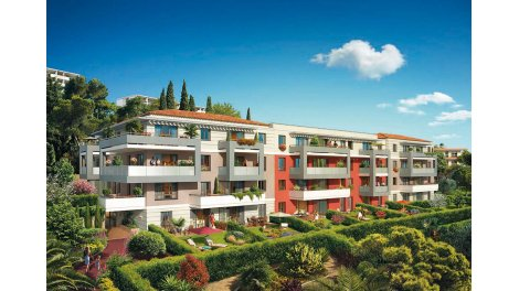 Appartement neuf Lorenza Parc investissement loi Pinel à Saint-Laurent-du-Var