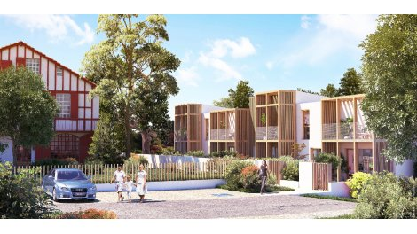 Maisons neuves Bakarra investissement loi Pinel à Bayonne