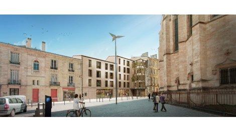 Appartement neuf Heritage Saint Michel éco-habitat à Bordeaux