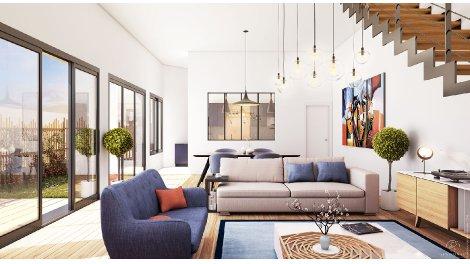Appartement neuf Septime éco-habitat à Bordeaux