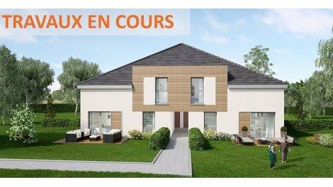 Appartement neuf Les Carres du Val éco-habitat à Saint-Rémy-l'Honoré