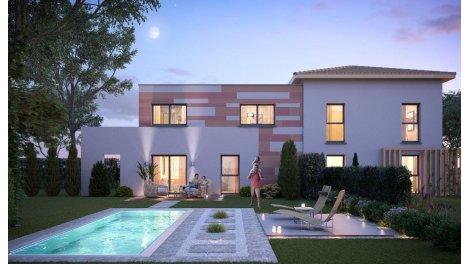 Maisons neuves Les Carres du Lauzis éco-habitat à Montastruc-la-Conseillère