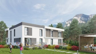 Appartements neufs Les Carres Contemporains éco-habitat à Bassens