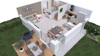 Appartements neufs Les Carres d'Alban à Moye