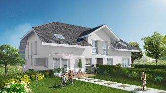 Appartements neufs Les Carres du Pecheur investissement loi Pinel à La Balme-de-Sillingy