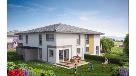 Appartement neuf Les Carres du Loup investissement loi Pinel à Lovagny