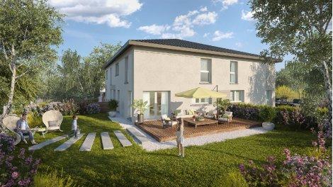 Appartement neuf Les Carres des Sens investissement loi Pinel à Veigy-Foncenex