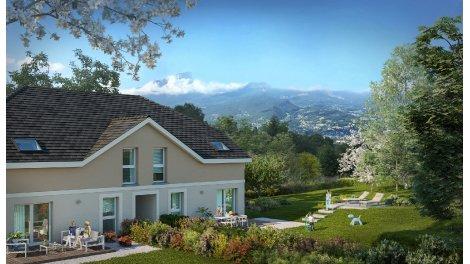 Appartement neuf Les Carres du Chateau investissement loi Pinel à Saint-Alban-Leysse