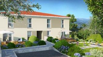 Maisons neuves Les Carres de l'Horizon éco-habitat à Ternay