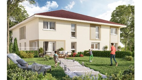 Appartement neuf Les Carres de Mont Boisy investissement loi Pinel à Bons-en-Chablais