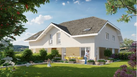 Appartement neuf Les Carres de l'Aigle investissement loi Pinel à Montagny-les-Lanches