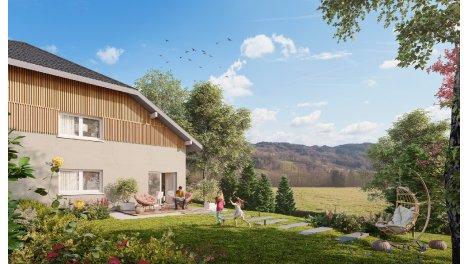 Maisons neuves Les Carres du Bien-Hetre éco-habitat à Villard