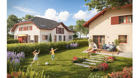 Appartements neufs Les Carres des Onges éco-habitat à Hauteville-sur-Fier