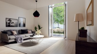 Appartements neufs Les Allees Viretii investissement loi Pinel à Vernon