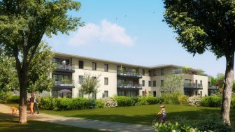 Appartements neufs Parc Gardenii investissement loi Pinel à Epron