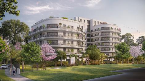 Appartement neuf Le Paradis n'Est Pas Artificiel. éco-habitat à Colombes