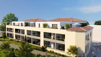 Appartements neufs La Closerie du Temple éco-habitat à Nîmes