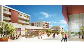 Appartements neufs Forum des Carmes investissement loi Pinel à Istres