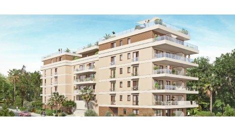 Appartement neuf Les Terrasses Aléfia investissement loi Pinel à Juan-les-Pins