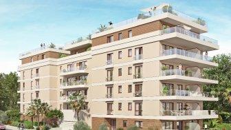 Appartements neufs Les Terrasses Aléfia investissement loi Pinel à Juan-les-Pins